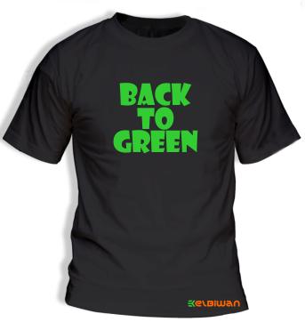 green army tshirt oneck