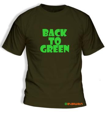 kaos oblong green army