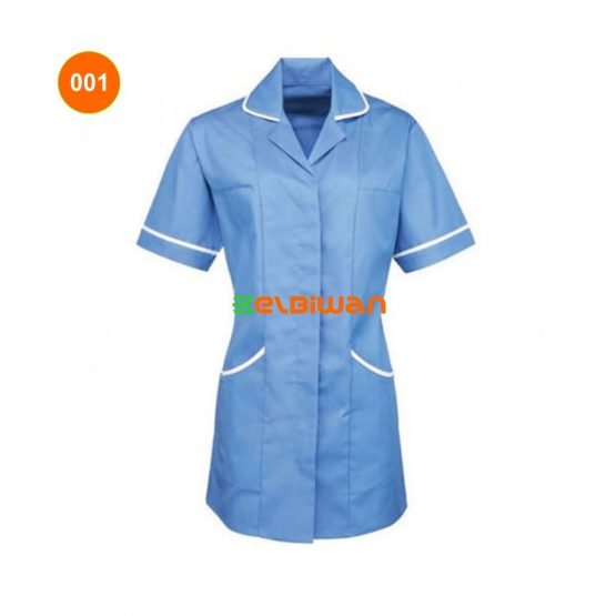 baju perawat kerah