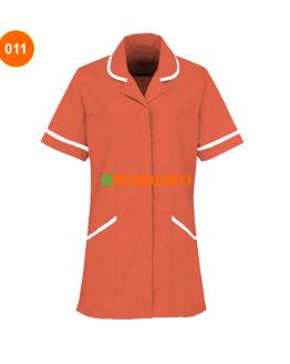 baju perawat model kerah